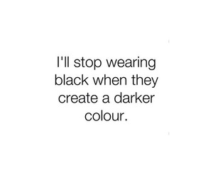 black, dark, and quotes image