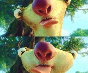 sid, ice age, and funny image