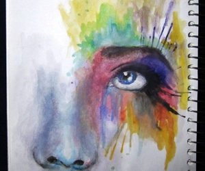 art, colorful, and painting image