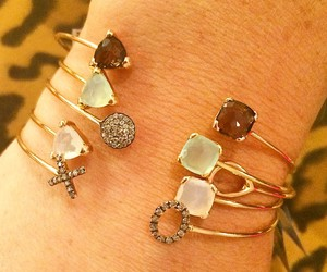 bracelet, jewelry, and necklace image