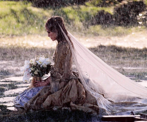 rain, keira knightley, and wedding image