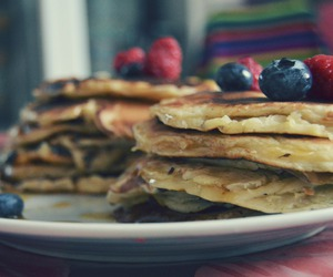 FRUiTS, pancakes, and yummy image