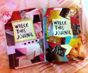 blue, diy, and journals image
