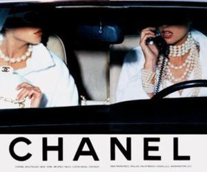 chanel, white, and vintage image