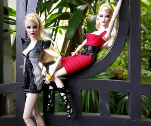 doll, dress, and photography image