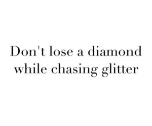 quotes, diamond, and glitter image