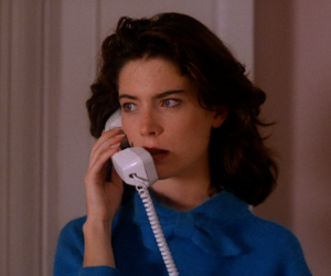 1990, telephone, and Twin Peaks image