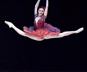 ballerina, elastic, and feet image