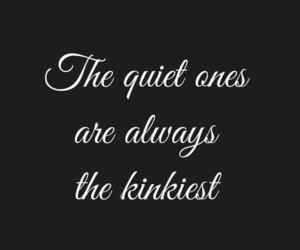 black, kinky, and quotes image