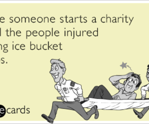 charity, funny, and injured image