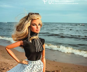 beach, beauty, and doll image