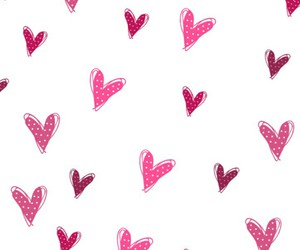 <3, background, and hearts image