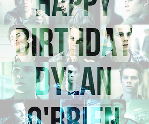dylan o'brien, teen wolf, and birthday image