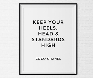 chanel, tumblr, and quotes image