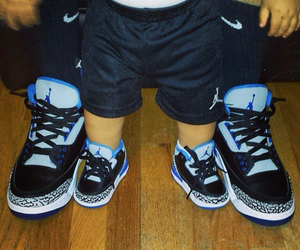 baby, jordan, and shoes image