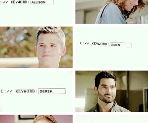 teen wolf, aiden, and lydia martin image