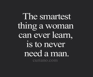 quote, single, and women image
