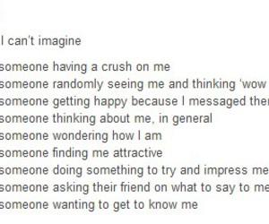 feelings, imagine, and me image