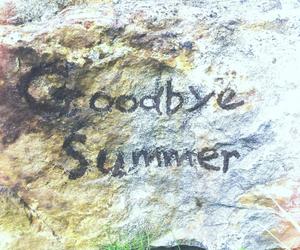 goodbye, summer, and school image