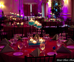 candle, party, and centerpiece image