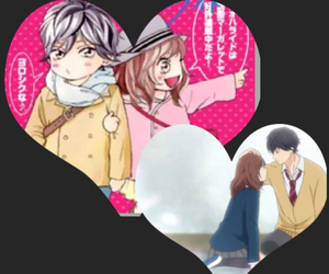 anime, love, and blue spring ride image