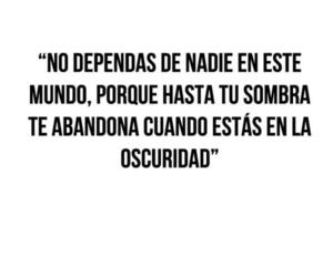 frases, quote, and Darkness image