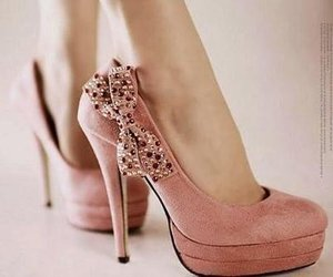 high heels and bow image