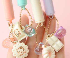 kawaii, pens, and cute image