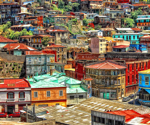 chile and valparaiso image