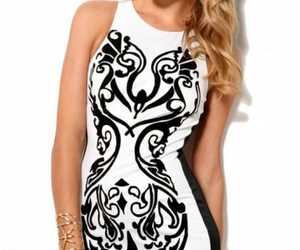 evening party dresses, cute casual, and women's fashion dresses image