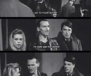 doctor who, the ninth doctor, and doctor who quotes image