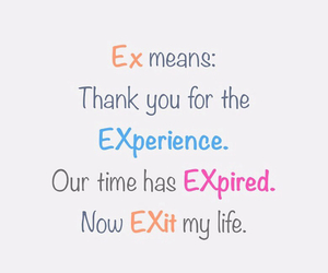 ex, exit, and expired image