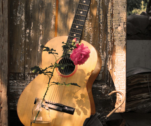 music, guitar, and photography image