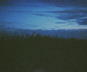 blue, Darkness, and heaven image