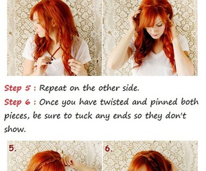 hair, braid, and tutorial image