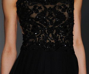 black, fashion, and sequins image
