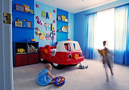 Kids Room Designs. Blue Boys Bedroom Ideas Pictures ...