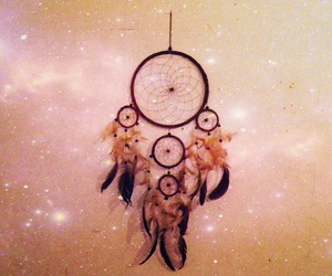 dream catcher, feather, and dream catchers image