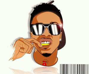 august alsina and art image