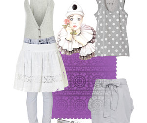 fashiom, Polyvore, and style image
