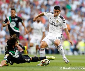 real madrid, hala madrid, and james rodriguez image