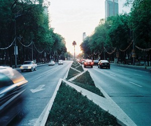 city, road, and nature image