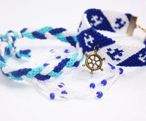 bracelet, etsy, and friendship image