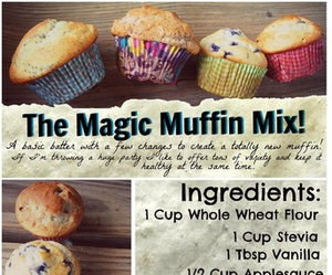 muffin, food, and recipe image