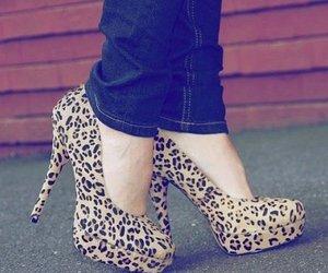 heels, fashion, and high heels image