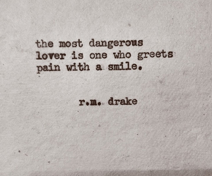 quote, lover, and pain image