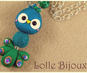 blue, charm, and clay image