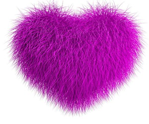 purple, heart, and love image