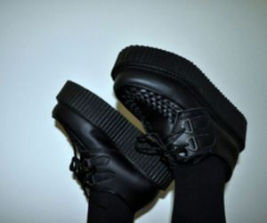 creepers, grunge, and shoes image