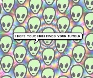 tumblr, alien, and grunge image